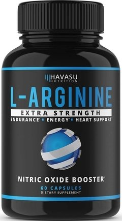 L Arginine Extra Strength (60 caps) - Havasu Nutrition
