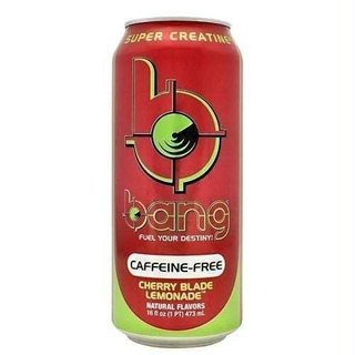 Bang Super Creatine Ultra COQ 10 BCAA CAFFEINE FREE Blade Lemonade (473 ml) - VPX