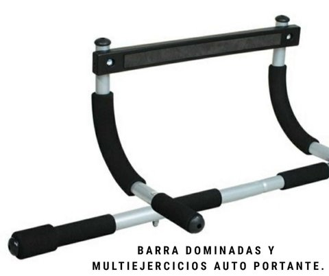 Barra Dominadas y Multi ejercicios (auto-portante) - MM Fitness