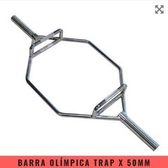 Barra Olímpica Trap x 50 mm - MM Fitness