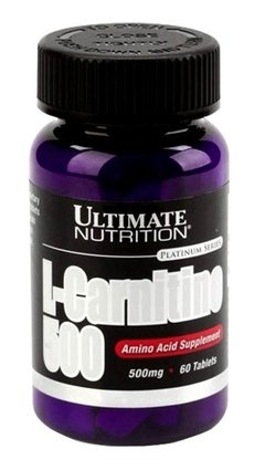 Carnitina 500 (60 Tab) - Ultimate Nutrition