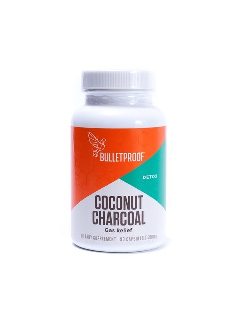 Coconut Charcoal (90 Caps) - Bulletproof