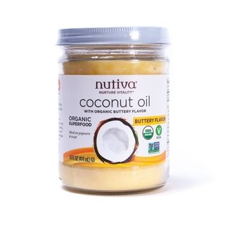 Coconut Oil Organic Butter (414 Ml) - Nutiva