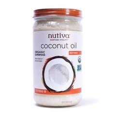 Coconut Oil Refined (680 Ml) - Nutiva