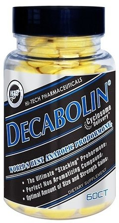 Decabolin (60 Cap) - Hi Tech