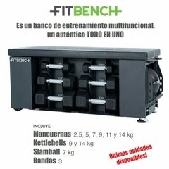 Fit Bench Life Fitness Banco Multifunción (Precio Dolar) - MM Fitness