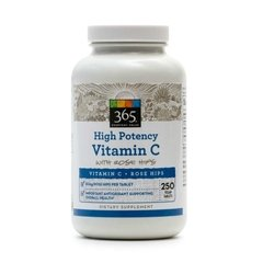 High Potency Vitamin C (250 Tabs) - Whole Foods Market