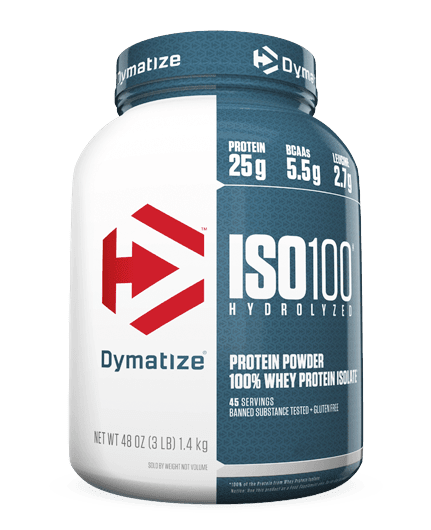f6b1f3c96 ISO 100 Whey Protein Isolate (3 lbs) - Dymatize - comprar online