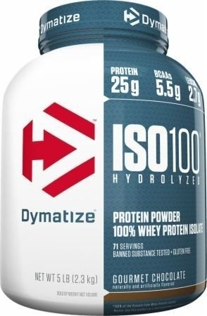 7c7480393 Iso 100 Whey Protein Isolate (5 Lbs) - Dymatize - comprar online