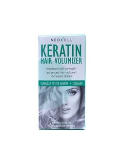 Keratin Hair Volumizer (60 Caps) - NeoCell