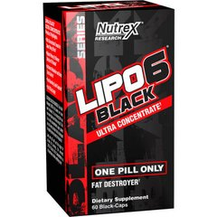 Lipo 6 Black Ultra Concentrado Black Series (60 Cap) - Nutrex
