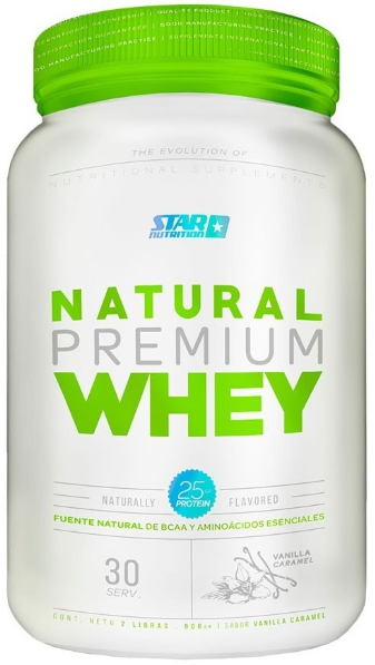 Natural Premium Whey (2 Lbs) - Star Nutrition