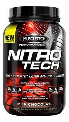 Nitro Tech Hardcore Performance Series (2 Lbs) - Muscletech