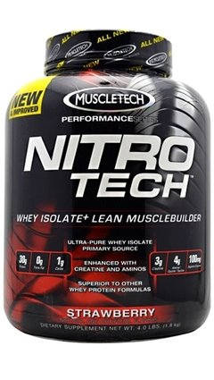 Nitro Tech Hardcore Performance Series (4 Lbs) - Muscletech