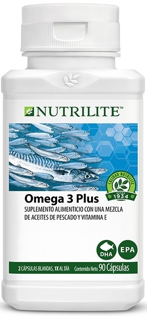 Omega 3 Plus (90 Caps) - Nutrilite