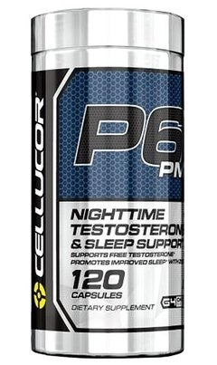 P6 PM (120 Caps) - Cellucor