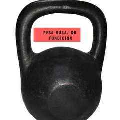 Pesa Rusa Fundición (24 Kg) - Mm Fitness