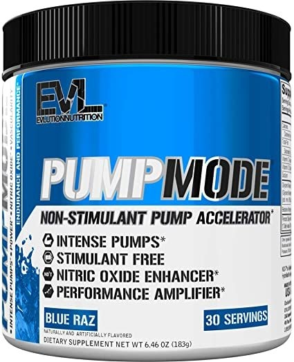 Pump Mode (30 Servicios) - EVL Nutrition