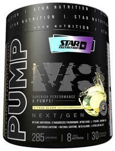 Pump V8 x 285 Gramos - Star Nutrition