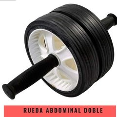 Rueda Abdominal Doble Nacional - MM Fitness