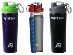 Shaker Syntrax color Negro (800ml)