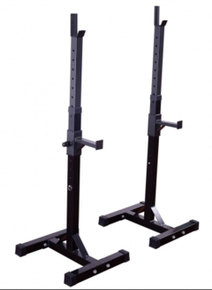 Soportes para Barras Regulable en altura LONG (hasta 400 Kg por par) LM - MM Fitness