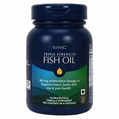 Triple Strength Fish Oil (60 softgels) - GNC