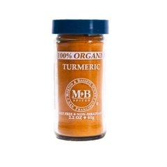 100% Organic Turmeric (61 Gr) - Morton and Bassett Spices