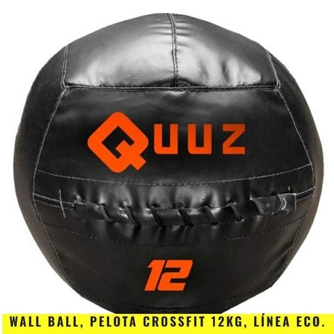 Wall Ball Pelota Crossfit (12 Kg) Linea ECO- MM Fitness