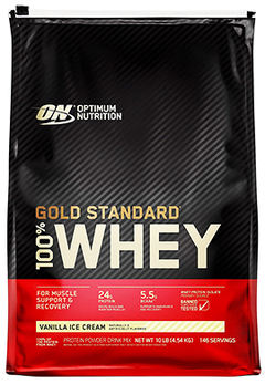 100% Whey Gold Standard (10 Lbs) - Optimum Nutrition