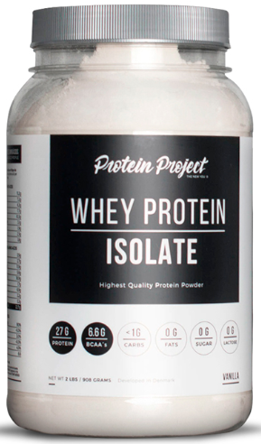 Whey Protein Isolate (2 Lbs) - Protein Project