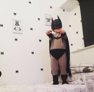 Vinilos Decorativos De Pared Infantil Superheroe Batman