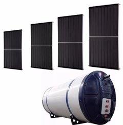 Aquecedor Solar 600 Litros Boiler Com 4 Placas De 1,5x1,0m