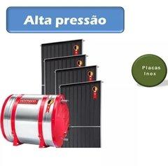 Aquecedor Solar Alta Pressão Aço 316 Placas Inox Komeco 600l