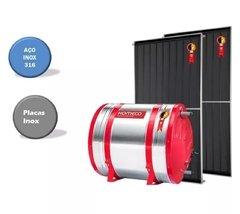 Aquecedor Solar Alta Pressão 400 l boiler aç inox 316 komeco