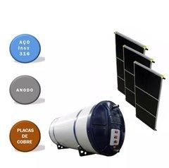 Aquecedor Solar Alta Pressão 400 L BOILER AÇO INOX 316 ANODO