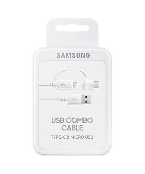 Cable Combo USB Samsung (Tipo-C y Micro USB)