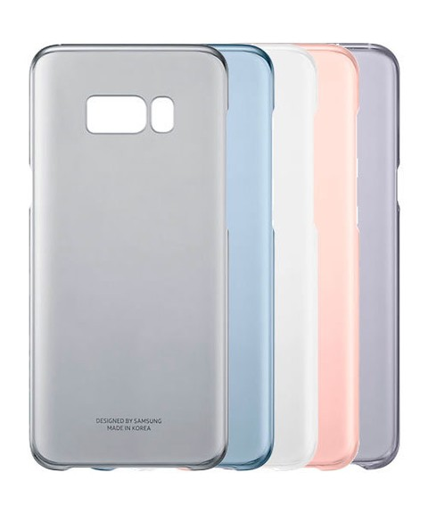 Funda Samsung Clear Cover para Galaxy S8 Plus Original