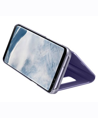 Funda Samsung Clear View Stand Cover para Galaxy S8 Plus Original