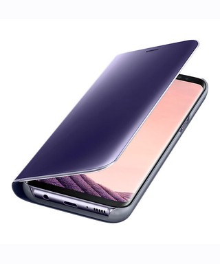 Funda Samsung Clear View Stand Cover para Galaxy S8 Original
