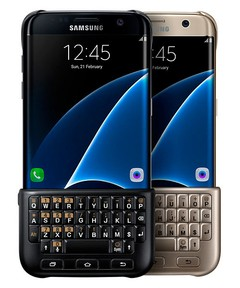 Funda Samsung Keyboard Cover S7 edge Original