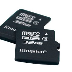 Memoria Kingston Micro SD HC Clase 4 32GB