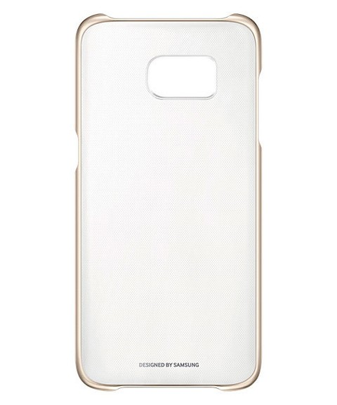 Funda Samsung Clear Cover S7 edge Original