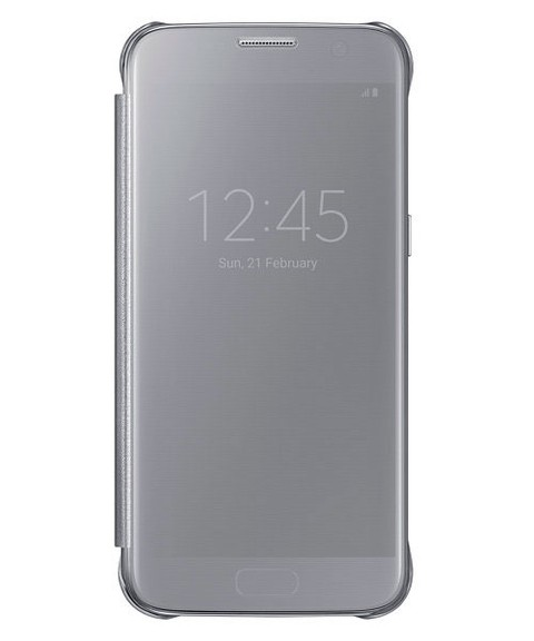 Funda Samsung Clear View Cover S7