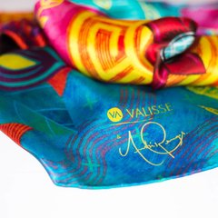 MOPA MOPA - VALISSE · 100% SILK SCARVES · A PIECE OF ART ·