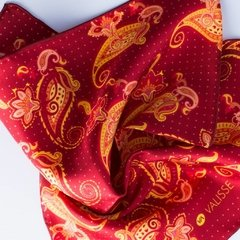 ARABESCOS - VALISSE · 100% SILK SCARVES · A PIECE OF ART ·
