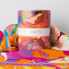 PAÑOLETA ATMOSFERA PLAYERA - VALISSE · 100% SILK SCARVES · A PIECE OF ART ·