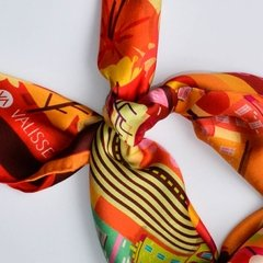 MEDELLIN - VALISSE · 100% SILK SCARVES · A PIECE OF ART ·