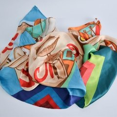 CULTURA WAYUU - VALISSE · 100% SILK SCARVES · A PIECE OF ART ·