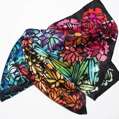 SUCULENTAS - VALISSE · 100% SILK SCARVES · A PIECE OF ART ·